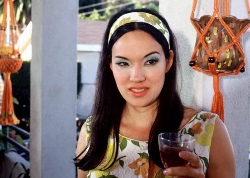Anna Biller at Barbecue